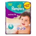 82 Couches Pampers Active Fit taille 4 sur Sos Couches