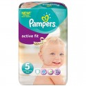 92 Couches Pampers Active Fit taille 5 sur Sos Couches