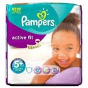 58 Couches Pampers Active Fit taille 5+ sur Sos Couches