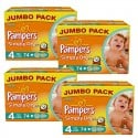 294 Couches Pampers Simply Dry 4 sur Sos Couches