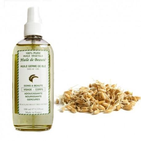 Huile de beauté aux germes de blé 100% pure végétales sur Sos Couches