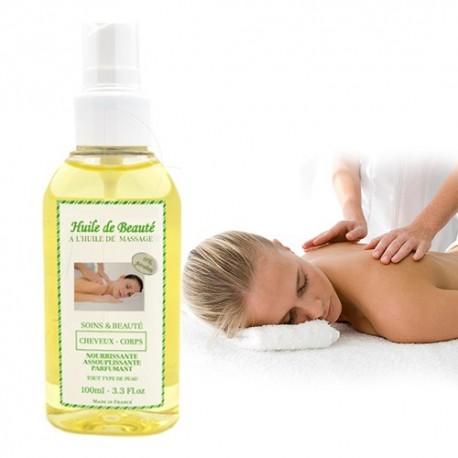 Huile de massage Corps, relaxation et bien être sur Sos Couches