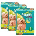 220 Couches Pampers Baby Dry taille 2 sur Sos Couches