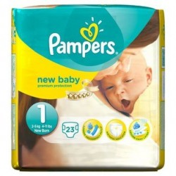 68 Couches Pampers Sleep & Play taille 4+ taille 2