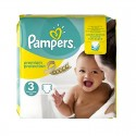 80 Couches Pampers Premium Protection - New Baby taille 3 sur Sos Couches
