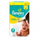 29 Couches Pampers Premium Protection - New Baby taille 3 sur Sos Couches
