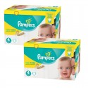 336 Couches Pampers New Baby Premium Protection taille 4 sur Sos Couches