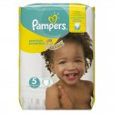 68 Couches Pampers Premium Protection - New Baby taille 5 sur Sos Couches