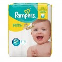 32 Couches Pampers New Baby Premium Protection taille 5+ sur Sos Couches