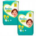 240 Couches Pampers Premium Protection - New Baby taille 6 sur Sos Couches