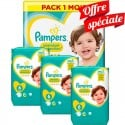 480 Couches Pampers Premium Protection - New Baby taille 6 sur Sos Couches