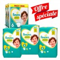 217 Couches Pampers Premium Protection - New Baby taille 6 sur Sos Couches