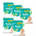 168 Couches Pampers Baby Dry taille 7 sur Sos Couches