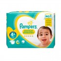 62 Couches Pampers Premium Protection - New Baby taille 4+ sur Sos Couches