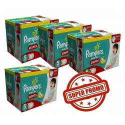 252 Couches Pampers Baby Dry Pants taille 5