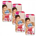 Mega Pack 144 couches Lotus Baby Touch sur Sos Couches