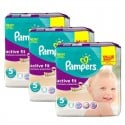 276 Couches Pampers Active Fit taille 5 sur Sos Couches