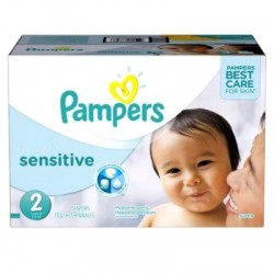 360 Couches Pampers New Baby Sensitive taille 2