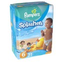 21 Couches de bains Pampers Swimming Pants Splachers taille 6 sur Sos Couches
