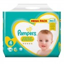 78 Couches Pampers New Baby - Premium Protection taille 4 sur Sos Couches