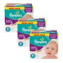186 Couches Pampers Active Fit taille 4+ sur Sos Couches