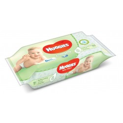 56 Lingettes Bébés Huggies Natural Care