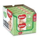 560 Lingettes Bébés Huggies Natural Care sur Sos Couches