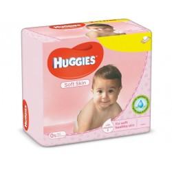 560 Lingettes Bébés Huggies Soft Skin