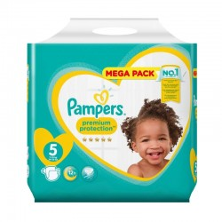 35 Couches Pampers New Baby taille 5