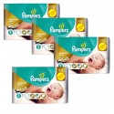 266 Couches Pampers New Baby Premium Care taille 2 sur Sos Couches