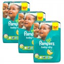 168 Couches Pampers Baby Dry taille 5+ sur Sos Couches