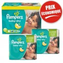 225 Couches Pampers Baby Dry taille 5+ sur Sos Couches