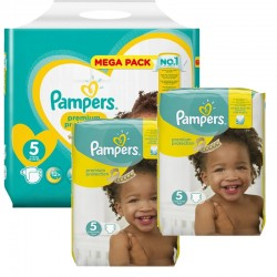 315 Couches Pampers New Baby - Premium Protection taille 5
