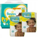 315 Couches Pampers New Baby - Premium Protection taille 5 sur Sos Couches