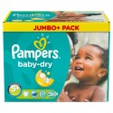 252 Couches Pampers Baby Dry taille 5+ sur Sos Couches