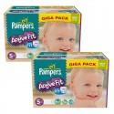 235 Couches Pampers Active Fit taille 5 sur Sos Couches