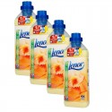 Lot de 4 adoucissants Lenor 950 ml summer breeze sur Sos Couches