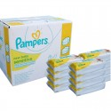 56 Lingettes Bébés Pampers Sensitive Baby - 3 Packs de 56 sur Sos Couches