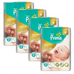 110 Couches Pampers Premium Care - Prima taille 2