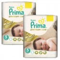 126 Couches Pampers Premium Care - Prima taille 5 sur Sos Couches