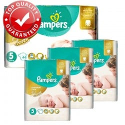 180 Couches Pampers Premium Care - Prima taille 5