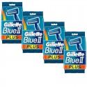 Lot de 4 Packs Gillette Blue3 Rasoirs Jetables 3 pièces sur Sos Couches