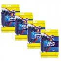 Lot de 4 Packs Gillette BlueII Rasoirs Jetables 20 pc. sur Sos Couches