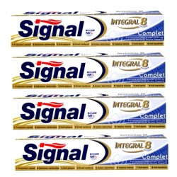 4 Dentifrices Signal Integral 8 Complet
