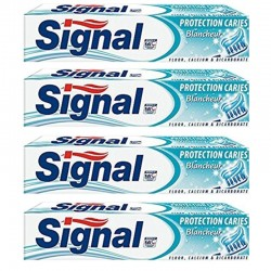 4 Dentifrices Signal Protection Caries Blancheur