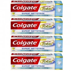 4 Dentifrices Colgate Total Expert Nettoyage