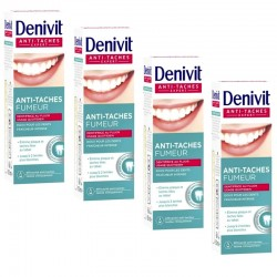 4 Dentifrices Denivit Anti-Taches Fumeur