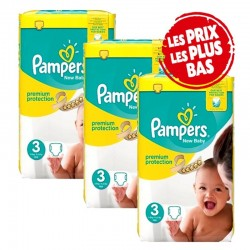 200 Couches Pampers New Baby - Premium Protection taille 3