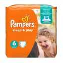 30 Couches Pampers Sleep & Play taille 6 sur Sos Couches