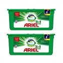 Lot de 2 Ariel Pods 28 Original 3in1 (795,2 gr) sur Sos Couches